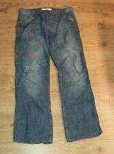 Men's Republic White Label Blue jeans Cotton W34 L32