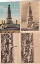 Lot 4 cartes postales anciennes GUERRE 14-18 WW1 VERDUN MONUMENT LES EPARGES
