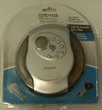New Craig 120/45 Second Anti-Skip Personal Stereo MP3/CD Player w/ Earbuds