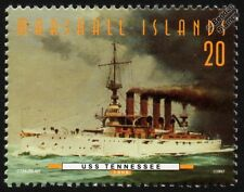 USS TENNESSEE (ACR-10) (USS MEMPHIS) Armored Cruiser Warship Stamp (1997)
