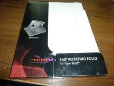 New Rocketfish RF-PD5CF2W Folio Case for Apple iPad Air - White