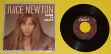 Juice Newton 1981 Queen of Hearts / River of Love 45 RPM record & Nice Sleeve!