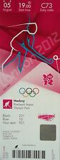 TICKET Olympia 5.8.2012 Men's Hockey Großbritannien - Australien C73
