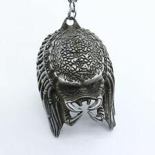 New  Alien vs. Predator 3D Mask Silver Metal Keyring Keychain