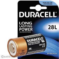 """"""" PX28L Lithium Foto-Batterie DURACELL 28L 2CR1/3N L544"""