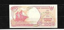 INDONESIA #127g 1999 UNUSED mint 100 RUPIAH CURRENCY BANKNOTE NOTE PAPER MONEY
