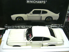 FORD Capri RS 3100 RS3100 DRM Plain body white weiss Test Minichamps PMA 1:18