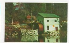 USA, Old Mill & Cable Line, North Carolina Old Postcard, A815
