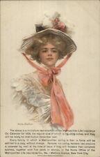 Philip Boileau - Beautiful Woman in Hat Met Life Insurance Advert PC myn EXC