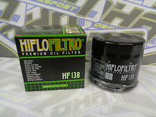 NEW Hiflo Oil Filter HF138 for Suzuki GSXF600 GSX600 F GSXF650 GSX650 F NEW