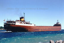 """Poster Print: 24"""" x 36"""": Edmund Fitzgerald On St Mary's River, Color, 1967"""