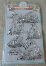 Woodland Hugs - Clear Stamp Collection - 6 adorable Stamps for every occasion -