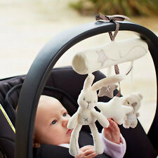 Cute Bunny Baby Infant Activity Musical Toys Rattle Crib Stroller Pram Car Seat