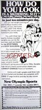1979 NEW OLYMPIC SPORTS Dumbell & Barbell Weights Advert - Cartoon Print Ad 492j