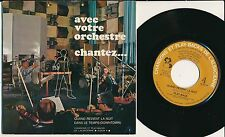 """COMPIL 45 TOURS EP 7"""" FRANCE PLAY-BACK HALLYDAY DOWNTOWN"""