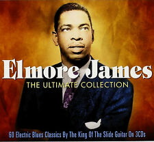 ELMORE JAMES Greatest Hits* Import 3-CD BOX SET *60 Orig Songs *NEW & SEALED