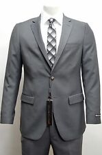 Men's Charcoal Gray Club Blazer w/ Double Vent Size 46S NEW Blazer