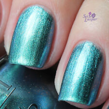 OPI NAIL POLISH Lacquer THIS COLOR'S MAKING WAVES ~ Shimmery, lagoon blue