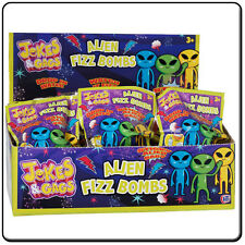 ALIEN FIZZ BOMBS - GREAT POCKET MONEY TOYS/ STOCKING FILLERS
