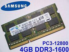 4GB DDR3-1600 PC3-12800 1600Mhz 1333 SAMSUNG M471B5273CH0-CK0 ARBEITSSPEICHER