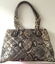 Kate Spade Handbag Quilted Gold Leather Coast Maryanne Snake NEW