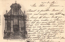 NEVERS 9 chapelle sainte-marie timbre rouge 10 cent. 1902