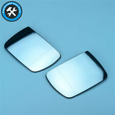 #NEW L+R# A Pair of Front Door Wing Rearview Mirrors Glass For BMW X5 E53 00-06