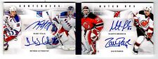 Rare!!! M.Staal/H.Lundqvist/M.Brodeur/Z.Parise 11-12 Panini Contenders Booklet