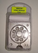 1 x 12 oz Watch Grip Lead Weight Mould, with 50 lead loops