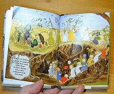 Etwas von den Wurzelkindern MINI Ausgabe Halbleinen Jugendstil-Bilderbuch Olfers