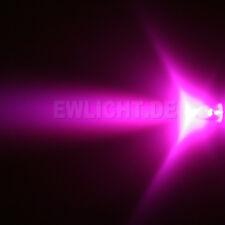 50 LEDs 5mm rosa 3000 MCD rosa rosa LED + accesorios para ZB. muebles PC iluminación