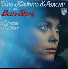 """MIREILLE MATHIEU """"UNE HISTOIRE D'AMOUR DU FILM LOVE STORY"""" 45T 4 TITRES"""