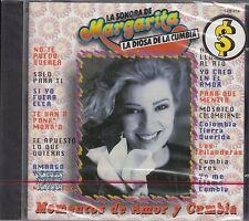 Margarita La Diosa De La Cumbia Momentos de Amor y Cumbia CD New Nuevo Sealed