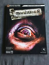Manhunt 2 BradyGames Signature Series Guide Strategy Guide PS2, PC, PSP, Wii