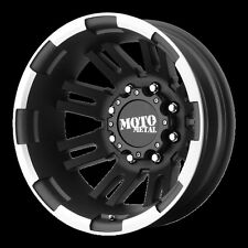 16 Inch Black Wheels Rims Moto Metal MO963 Chevy GMC Ford Dodge Dually 8x6.5 NEW
