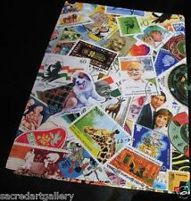 """Premier 10"""" World Postage Stamp Album Collection Book 12 pages for 300+ stamps"""