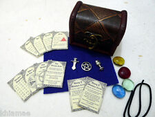 MINI ALTAR KIT pocket travel set wicca wiccan pagan athame chalice miniture BU