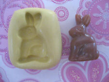 Bunny chocolate rabbit 23mm Silicone flexible mold for chocolate fondant clay