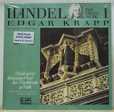 Edgar Krapp HANDEL Organ Works Vol.1 - Eurodisc 201 423-366 SEALED