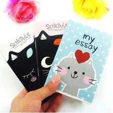 Cute Creative Animal Diary Pocket Planner Journal Notebook Gifts Stationary SS