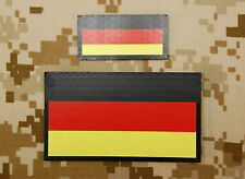 IR German Flag Standard & Mini Patch Set Kommando Spezialkräfte KSK Infrared