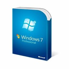 Licencia Windows 7 profesional 32/64 bit 1 Pc