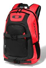Oakley Streetman 2.0 Pack Backpack Back Book Bag Bookbag Red Line Black