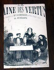 la plaine des vertus ronde partition chant 1865 Sylvain Mangeant