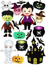 Halloween Miedo vampie Frankenstein pared ventana Stickers
