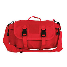 Red Rescue Tactical EMT EMS Medic Paramedic Go To Fly Quick Response Duffle Bag