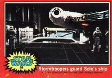 1977 Topps Star Wars Series 2 Red #88 Stormtroopers Guard Solos Ship   Han EX-MT