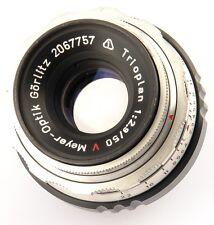 Nice Bokeh Meyer Optik Trioplan red V 50mm F/2.9 2.9 mount M39 M39