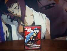 A.D. Police - To Protect and Serve - USED - Anime DVD - ADV Films 2002