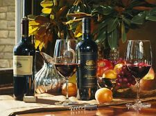 Canvas Print Fruit & Wine Oil painting Picture Printed on canvas 16X20 Inch P387